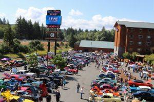 Little Creek Casino Resort Cruise at the Creek 2019 car show