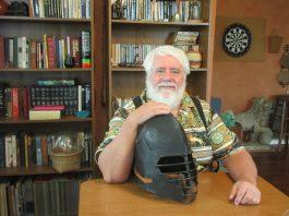 Stephen Armes Medieval Helmet