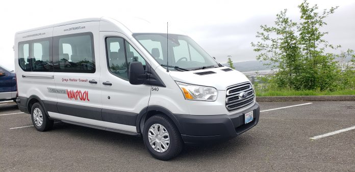 grays harbor transit vanpool van