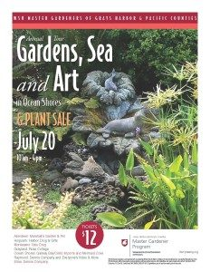 Garden Tour in Ocean Shore @ Eight Gardens in Ocean Shores