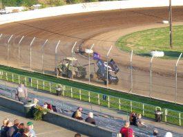 Grays Harbor Raceway wreck