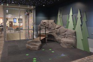 Summit Pacific Wellness Center indoor rock wall