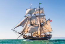 grays harbor tall ships Lady Washington tours Aberdeen 2
