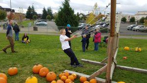 2019 Oktoberfest Grays Harbor Aberdeen pumpkin slingshot