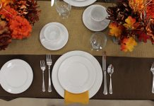 Celebrations Harvest Table Flat Lay Photo