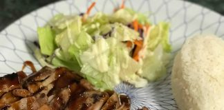 Places to Eat Montesano Oishi Teriyaki Chicken Teriyaki