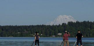 paddleboarding Olympia Washington