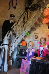 Trick or Treat Grays Harbor Light house Halloween