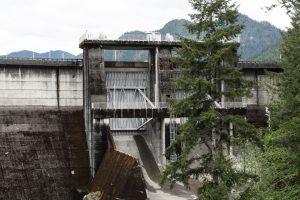 Visiting Wynoochee Dam