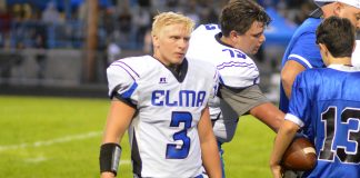 elma football Brady Shriver