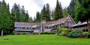 ake Quinault Lodge Back via Douglas Scott