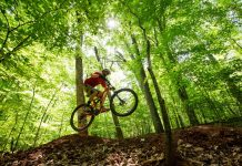 Mountain Bike trails in Montesano