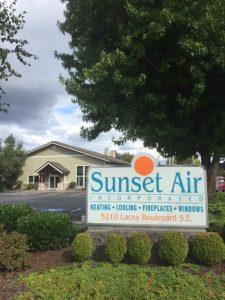 Sunset Air Signage