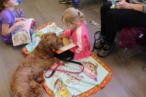 Timberland Regional Library-Elma Reading with Dogs at the library