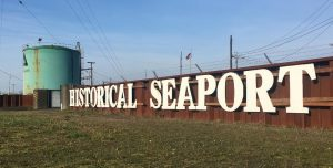 Grays Harbor Historical Seaport Sign