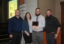 Mount Olympus Brewing accepting New Business of the Year Award
