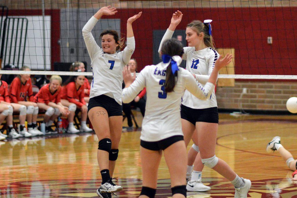 Elma high school volleyball