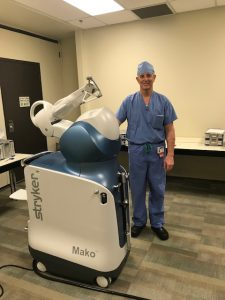 Olympia Orthopaedic Associates Dr Stephen Snow and Mako robot 5435