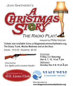 A Christmas Story - the radio play @ Ocean Shores Lions Club