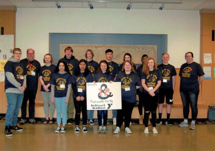 2019 Aberdeen Rotary Business Week winning team
