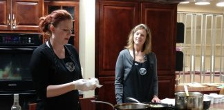 Bayview Cooking School in Olympia Julie and Irene Schade