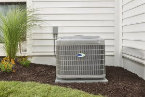 Sunset Air Carrier Heat Pump outdoor unit straight on