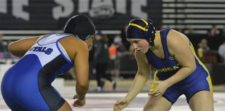Aberdeen girls wrestling