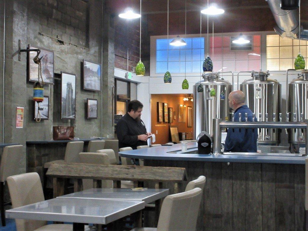 Hoquiam Brewing Company Classy Interior Design