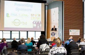 Timberland Bank Grays Harbor Paul-Long-speaking-at-Business-Summit