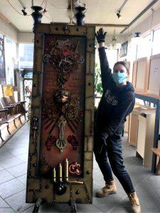 Adoor Project PNW Steampunk Door