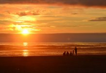 Where to walk on Beach Grays Harbor-beach-