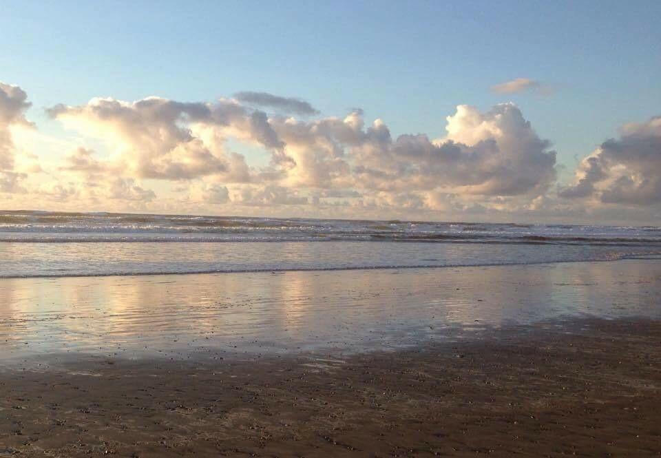 Where to walk on Beach Grays Harbor-sunset