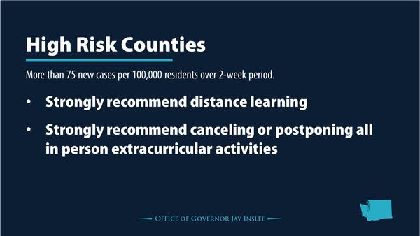 washington state COVID high risk