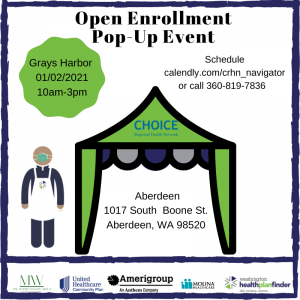 Open Enrollment In-Person Mobile Pop up event @ Shops at Riverside parkinglot