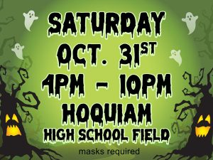 Halloween Spooktacular and Community Laser Light Show @ Hoquiam High School Field