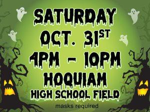 Halloween Spooktacular and Community Laser Light Show @ Hoquiam High School Field