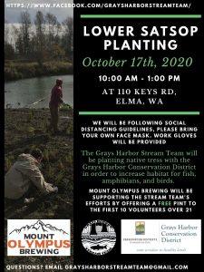 Tree Planting Party! @ Lower Satsop River, near Elma