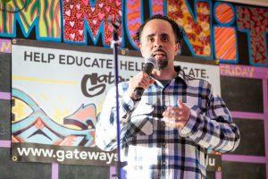 evergreen state college-Gateways-open-mic
