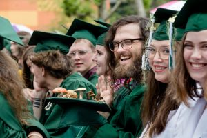 Evergreen College Paths of Study-Fungal-Kingdom-Graduation