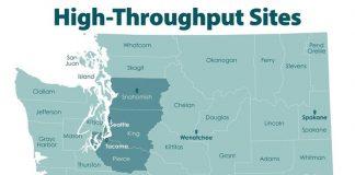 Washington state vaccine map