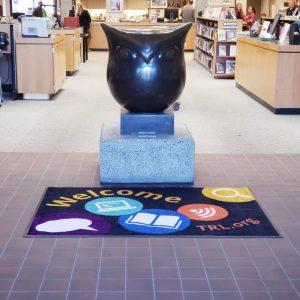 Aberdeen-Timberland-Library-Owl-statue