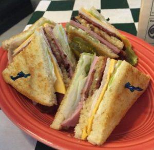 Clarks Restaurant Cosmopolis Sandwich CLUB