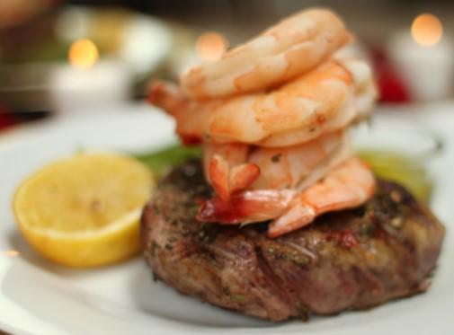 Mothers Day brunch Grays Harbor Clarks steak and shrimp