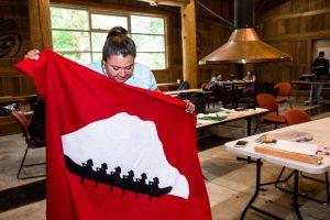 evergreen college Native Pathways program meeting-19