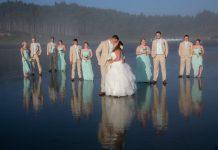 wedding grays Harbor beach venue