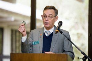 Evergreen College-Veterans-Coin-Ceremony