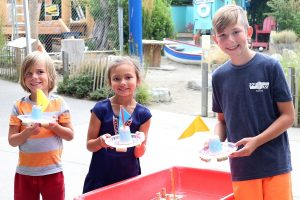 Hands On Childrens Musuem Summer Splash Sailboat Regatta