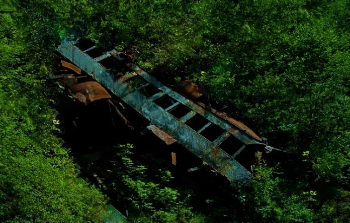 ring of fire train wreck
