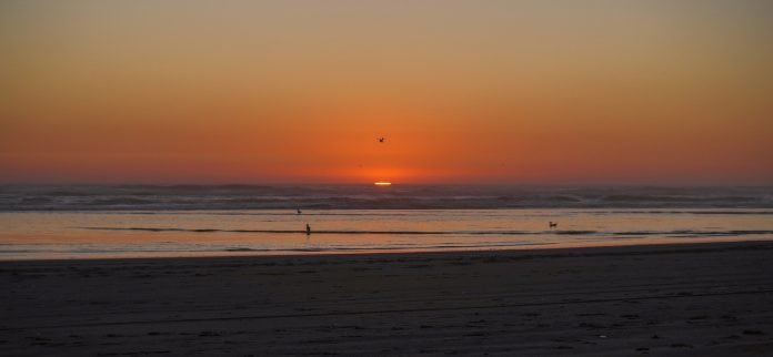 sunset viewing