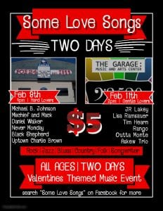 Some Love Songs: Gentle Lovers @ The Garage: Music and Arts Center | Aberdeen | Washington | United States
